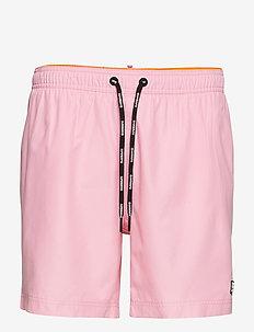 SUPERDRY SURPLUS SWIM SHORT - badebukser - prep pink
