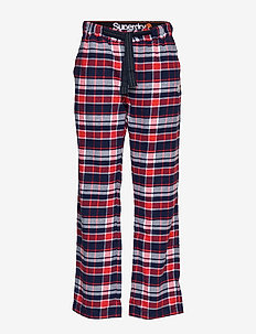 LAUNDRY FLANNEL PANT - RED CHECK
