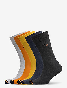 CITY SOCK 5 PACK - reguläre strümpfe - orange multipack