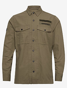 UTILITY FIELD EDITION L/S SHIRT - overshirts - army green