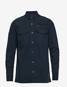 UTILITY FIELD EDITION L/S SHIRT - ECLIPSE NAVY