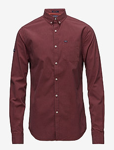 ULTIMATE UNIVRSTY OXFORD SHIRT - oxford shirts - alberta red gingham