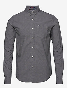 ULTIMATE UNIVRSTY OXFORD SHIRT - oxford-skjorter - black tex gingham