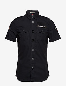 ARMY CORPS LITE S/S SHIRT - BLACK