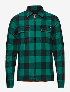 ROOKIE HARRINGTON SHIRT - APPALACHIAN SPRUCE GREEN
