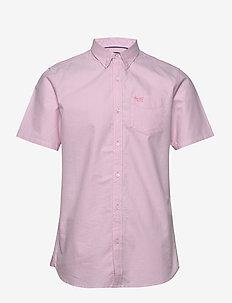 CLASSIC UNIVERSITY OXFORD S/S SHIRT - basic-hemden - city pink