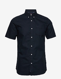 CLASSIC UNIVERSITY OXFORD S/S SHIRT - ECLIPSE NAVY