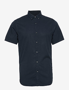 Classic Twill Lite S/S Shirt - basic skjorter - navy