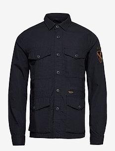 Ls 4 Pocket Field Edition - overshirts - eclipse navy