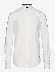 INTERNATIONAL POPLIN L/S SHIRT - OPTIC