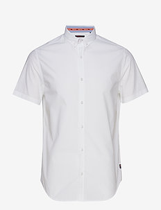 INTERNATIONAL POPLIN S/S SHIRT - TRUE OPTIC