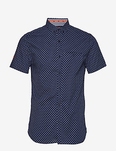 PREMIUM SHOREDITCH PRINT S/S SHIRT - oxford-paidat - classic dot