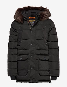 CHINOOK PARKA - JET BLACK