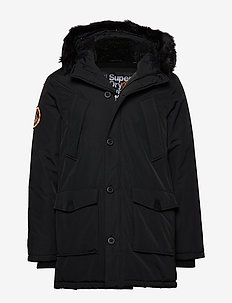 EVEREST PARKA - parkas - jet black