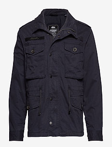ROOKIE FIELD JACKET - overshirts - vulcan