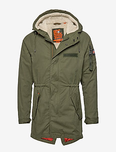 WINTER AVIATOR PARKA - DEEP DEPTHS