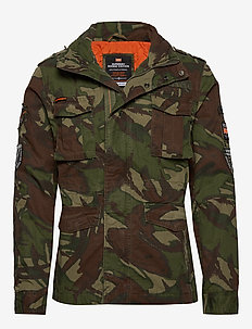 HERO ROOKIE MILITARY JACKET - vindjakker - outlined camo