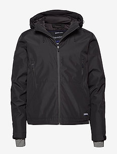 PADDED ELITE WINDCHEATER - toppatakit - black