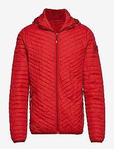VINTAGE FUJI JACKET - padded jackets - red