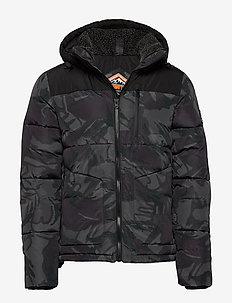 SD EXPEDITION COAT - padded jackets - black