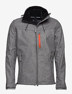 WINDTREKKER - vindjakker - light grey/black