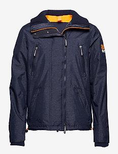 POLAR WIND ATTACKER NB - light jackets - navy marl/fluro orange