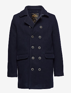 REMASTERED BRIDGE COAT - villakangastakit - super dark navy