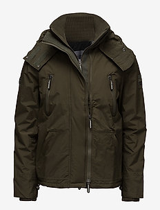 HOODED POLAR WIND ATTACKER NB - toppatakit - deep olive/black