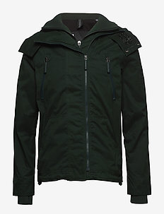 MICROFIBRE HOODED WINDATTACKER - IVY GREEN