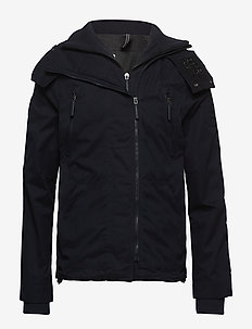 MICROFIBRE HOODED WINDATTACKER - vindjakker - super dark navy