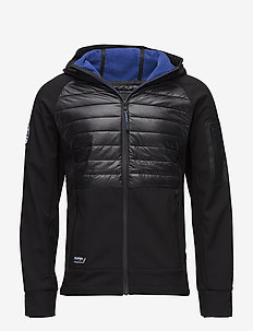 MOUNTAIN SOFTSHELL HYBRID - toppatakit - black/cobalt