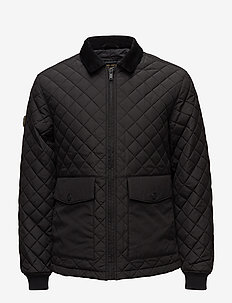 RYLAND QUILT COACH JACKET - BLACK