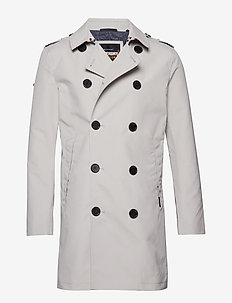 SUMMER ROGUE TRENCH - STONE
