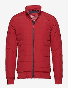 INTERNATIONAL QUILTED JACKET - RED