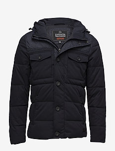 TECH TWEED JACKET - toppatakit - navy