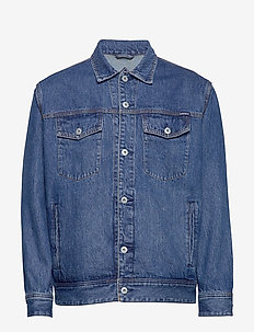 EASY TRUCKER - denimjakker - saddle worn blue