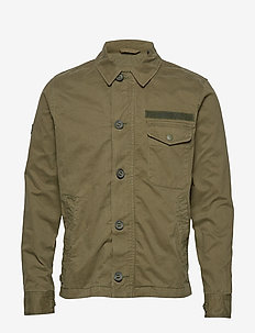 FIELD DECK JACKET - vindjakker - khaki