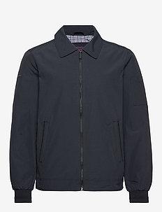 COLLARED HARRINGTON - bomber jackets - navy