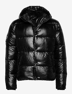 High Shine Padded Jacket - fôrede jakker - black