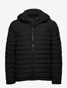 Hooded Fuji Jacket - vestes matelassées - black
