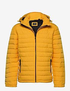 Hooded Fuji Jacket - gefütterte jacken - warm yellow