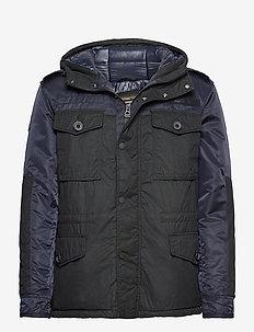 CORPORAL FIELD JACKET - padded jackets - dark navy