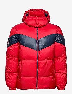 Stratus Padded Jacket - toppatakit - burnt cardinal