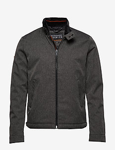 PREMIUM CASUAL HARRINGTON - vindjakker - heather grey herringbone