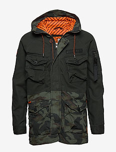 ROOKIE PANTHER ELEVATED PARKA - parka's - forest night/alpine camo