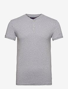 HERITAGE SS GRANDAD - t-shirts basiques - grey marl