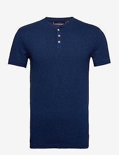 HERITAGE SS GRANDAD - basic t-shirts - pilot mid blue