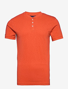 HERITAGE SS GRANDAD - basic t-shirts - rust