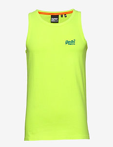 OL NEON LITE VEST - basic t-shirts - neon yellow