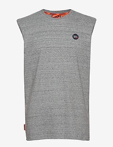 COLLECTIVE OVERSIZED VEST - logo t-shirts - collective dark grey grit